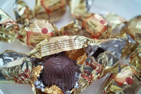 チューリン;テキーラ入りチョコレート 6P