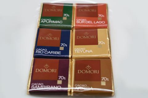ドモーリ;産地別チョコレート