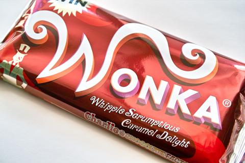 ネスレ;ウォンカチョコレート キャラメル味