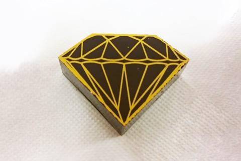 デルレイ;プレーンダイヤモンドダーク