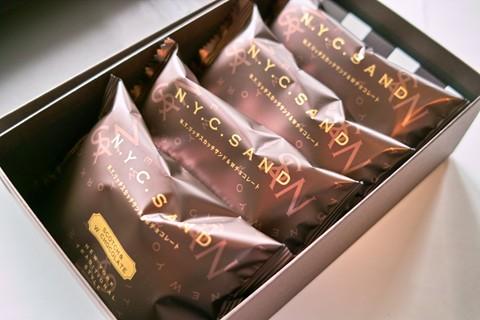 N.Y.キャラメルサンド;N.Y.リッチスカッチサンド&Wチョコレート