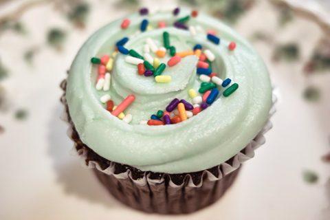マグノリアベーカリー;チョコレートカップケーキ