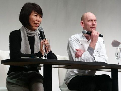 サロン・デュ・ショコラ2017 アンリ・ルルー ジュリアン・グジアン氏 トークショー