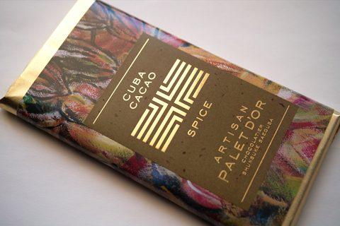 ショコラティエ パレ ド オール;タブレット プリュス キューバ産カカオ×エピス