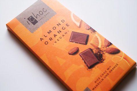 アイチョコ;アイチョコ オーガニックライスミルクチョコレート アーモンドオレンジ