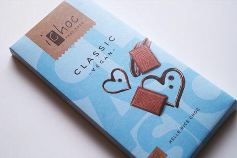 アイチョコ;アイチョコ オーガニックライスミルクチョコレート プレーン