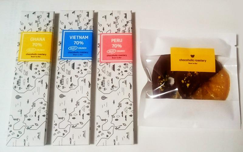 チョコホリック ロースタリー;タブレット3種