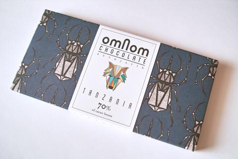 オムノムチョコレート;タンザニア70%