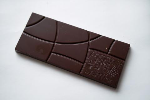 チョコ&ナッツ;板チョコ(中) カカオ64%
