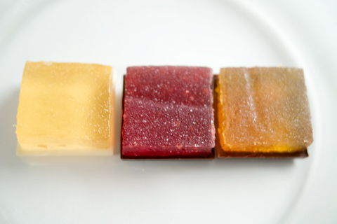 パティスリー アサコイワヤナギ;パヴェ パート ド フリュイ ショコラ三種