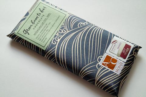 グリーンビーントゥバーチョコレート;マダガスカル70%ニブス