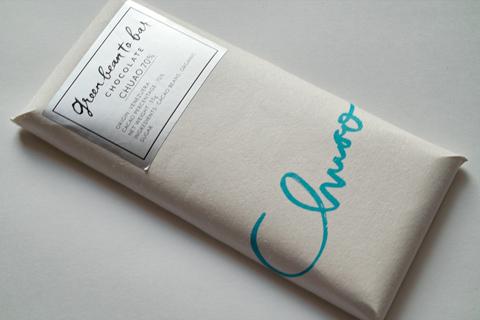 グリーンビーントゥバーチョコレート;チュアオ70%