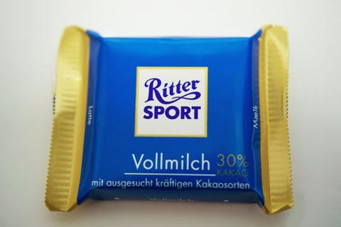 リッタースポーツ;ミニリッターアソート ミルクチョコレート