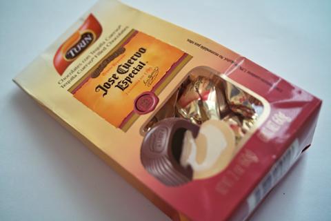 チューリン;テキーラ入りチョコレート