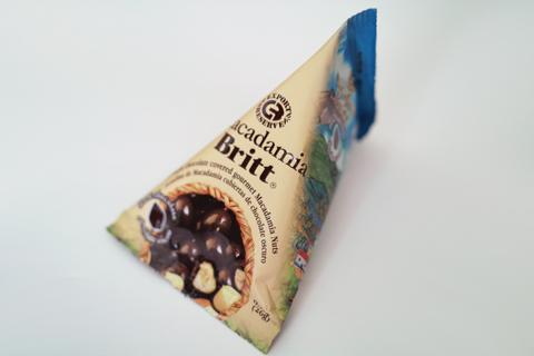 カフェ・ブリット(Café Britt)のマカダミア ブリット(Dark Chocolate Covered Macadamia Nuts)