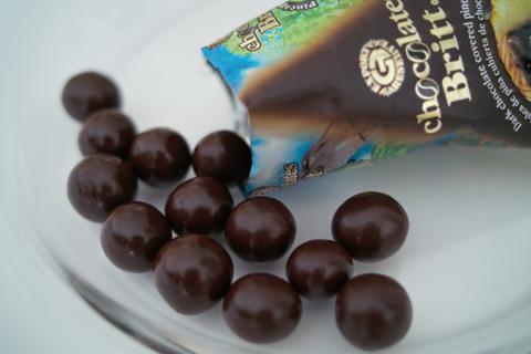 カフェ・ブリット(Café Britt)のパッションフルーツ(Dark Chocolate Covered Passion Fruit Jelly)