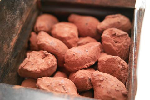 ラ・メゾン・デュ・ショコラ;コフレ・ドゥ・トリュフ-コニャック風味