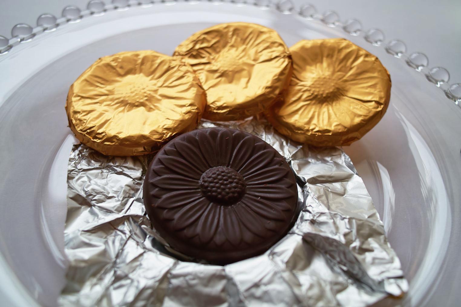 花ラベル スイートチョコレート