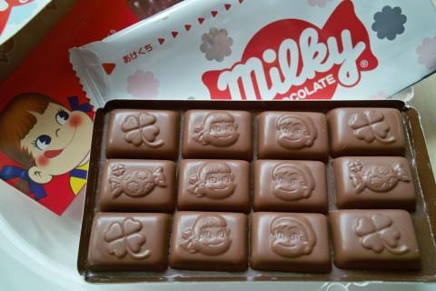 不二家 ミルキーチョコレート