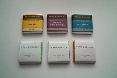 ディーンアンドデルーカ 一口チョコレート6種
