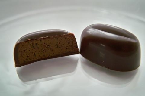 ショコラ・カフェ断面