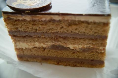 エスプレッソ トリュフ ケーキの側面