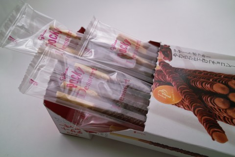 デザートポッキー「チョコレートケーキ風」内装
