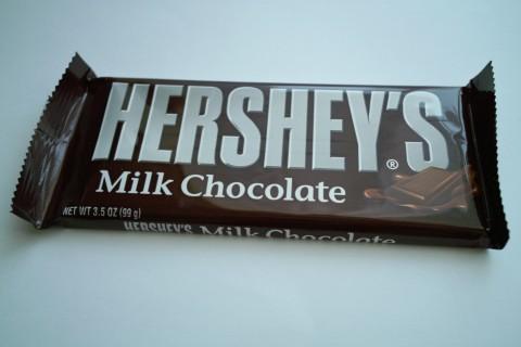 ハーシーズミルクチョコレート外装