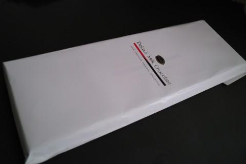 日本チョコレート工業協同組合 デラックスミルクチョコレート外袋