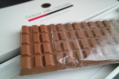 日本チョコレート工業協同組合 デラックスミルクチョコレート