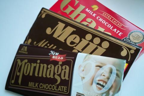 日本3大チョコレート