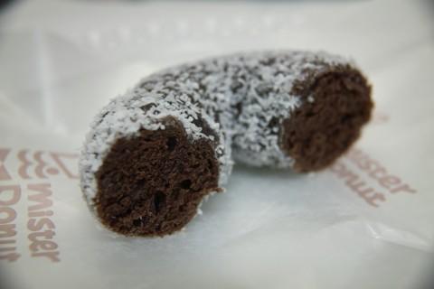 ココナツチョコレート断面