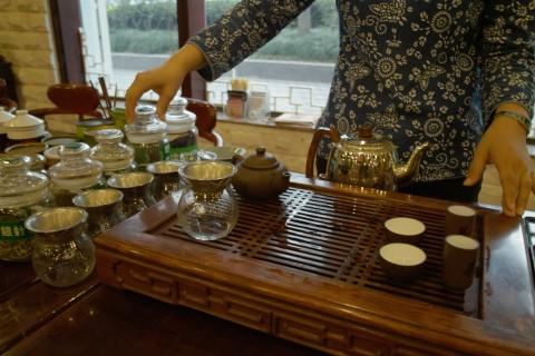 TEA FRAGRANCE GARDEN 茶香園でテイスティング