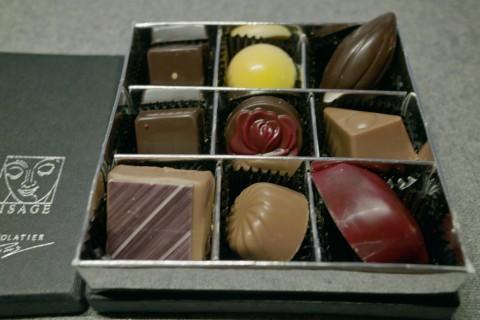 上海のチョコレート