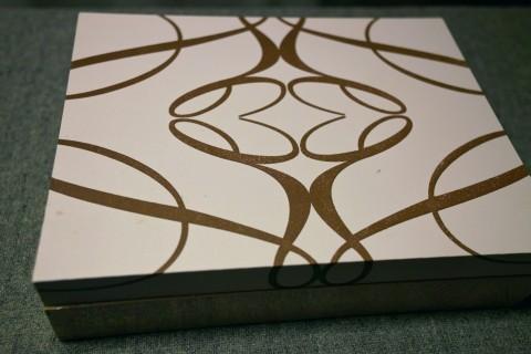 ル ロイヤル メリディアン上海のチョコレートボックス外装