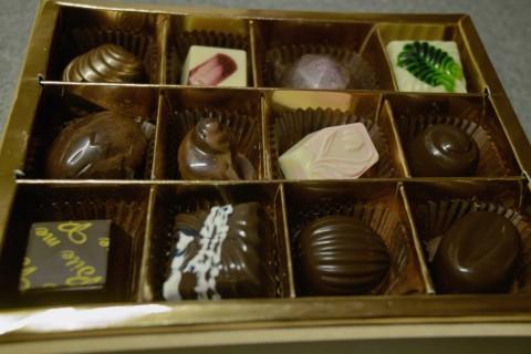 ル ロイヤル メリディアン上海のチョコレートボックス