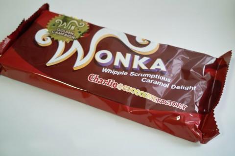 ウォンカチョコレート外装
