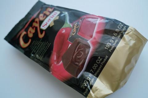 ソリーニのカエンチョコレート外装