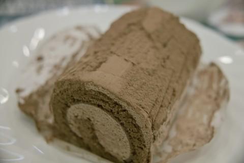 ファーストキッチンのリッチロール 濃厚ショコラ