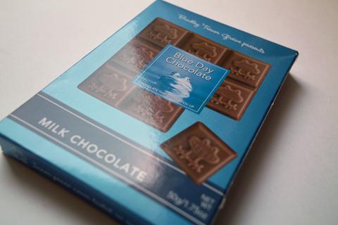 ブルーデイチョコレート(Blue Day Chocolate)ミルク