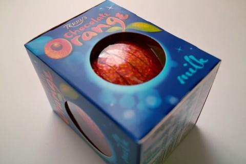 テリーズ(TERRY'S)のチョコレート オレンジ・ミルク(Chocolate Orange Milk)外装