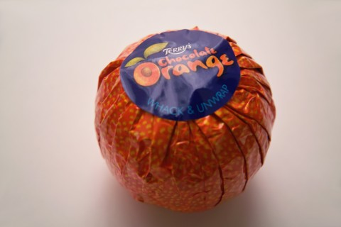 テリーズ(TERRY'S)のチョコレート オレンジ・ミルク(Chocolate Orange Milk)内装