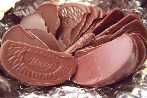 テリーズ(TERRY'S)のチョコレート オレンジ・ミルク(Chocolate Orange Milk)