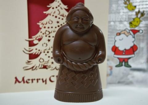 お相撲さんのチョコレート