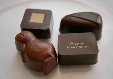 ピエール マルコリーニのボンボンショコラ