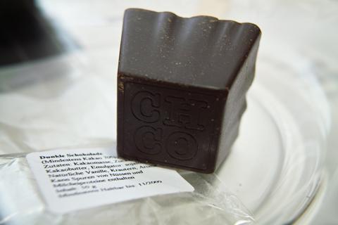チョコレートカンパニー(CHOCOLATE COMPANY)、ホットチョコスプーン(HOTCHOCSPOON PURE)のトウガラシ&オレンジ(CHILI & ORANGE)