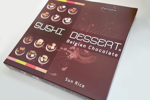 ロヴァコス(ROVACOS)スシデザート(SUSHI DESSERT)シリーズのサンライス(Sun Rice)