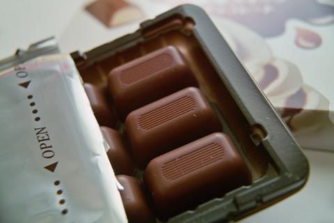 森永製菓 醤油スイーツチョコレート